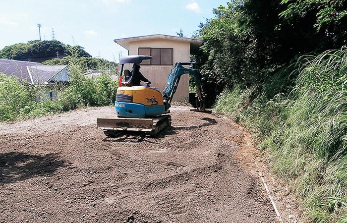 長崎エンゼルセンター解体整地